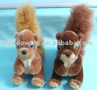 Plush Lovely Squirrel