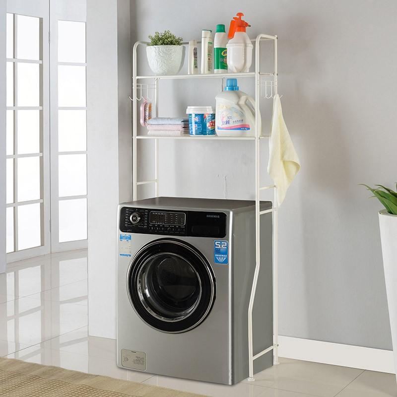 XM_402 Moderno nuovo basamento in metallo Bagno lavatrice mensola sopra il gabinetto mobili ...