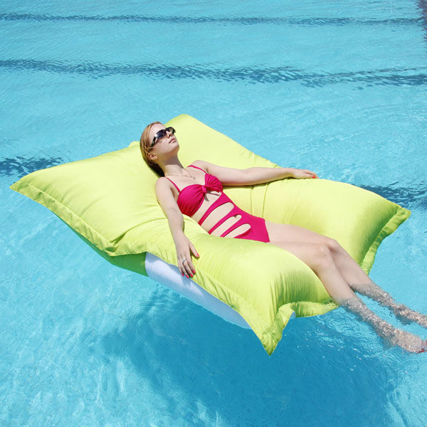 Visi Original Swimming Pool Floating Bean Bag Bed Outdoor Product On Alibaba