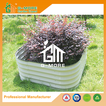 G-MORE 90 x 90CM Fast Assembly Raised Flower Beds