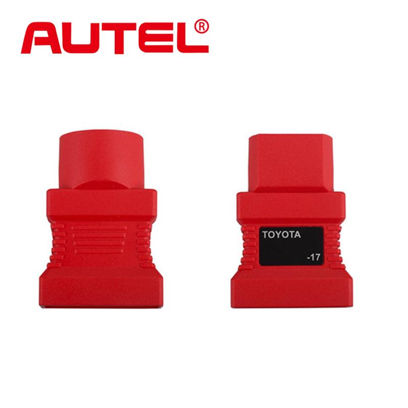 Оригинальный Autel адаптер для Toyota 17 контакт. до 15 контакт. разъем OBD адаптер двигатель диагностический инструмент