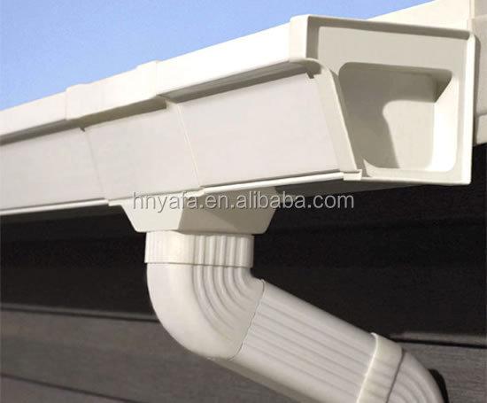 Mejor calidad de pl stico canalones para techo 5 2 - Canalones de plastico ...