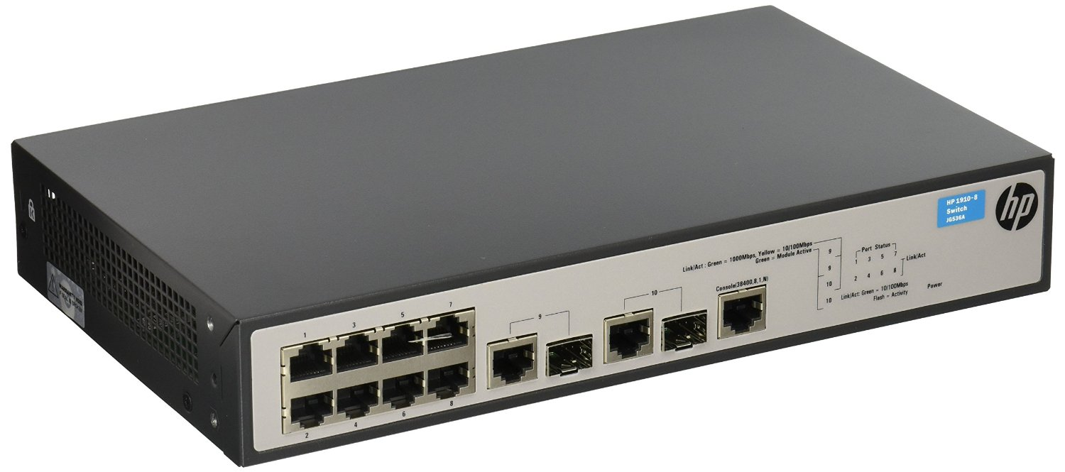 Buy HPE Networking BTO JG536A#ABA 1910-8 SWITCH in Cheap