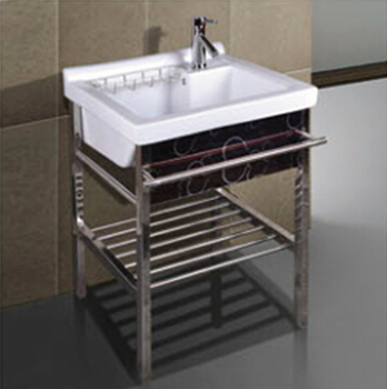 Verwonderend Badkamer Wastobbe Wasserij Wastafel Voor Wassen Kleding Met Rvs WU-07