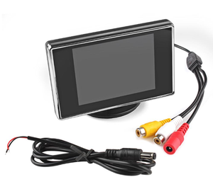 2AV input 3.5 inch mini monitor for car monitor sunlight readable