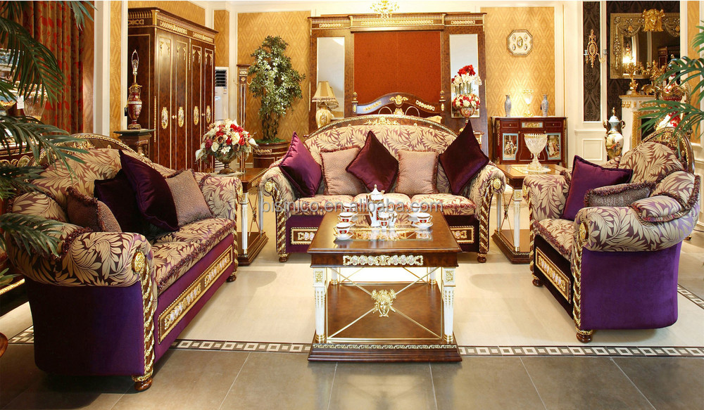 luxury french rococo wood carved hand painted living room sofa set royal palace golden angel. Black Bedroom Furniture Sets. Home Design Ideas