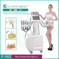 v10 Cryotherapy cooling plates vibration fat freezing 40kpa vacuum roller rf bio ultrasound cavitation body slimming machine