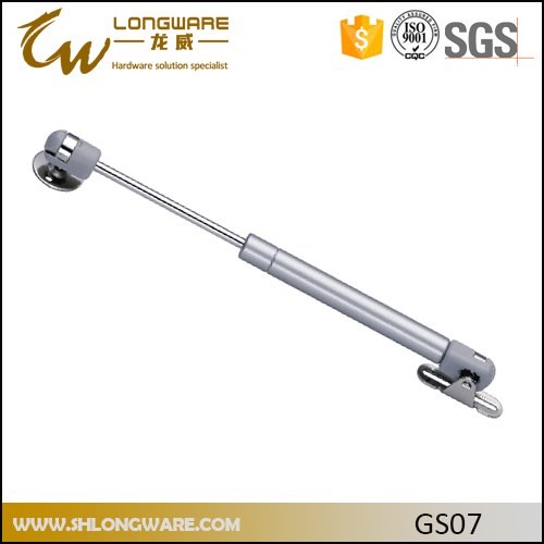 Wall hydraulic gas lift strut for bed