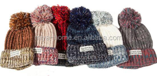 High Quality Winter Hats / Colorful Knitted Beanie / Knitted Hat