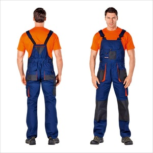 Mechanic Mens Winter Working Overall Uniform Bib Brace Work Uniform