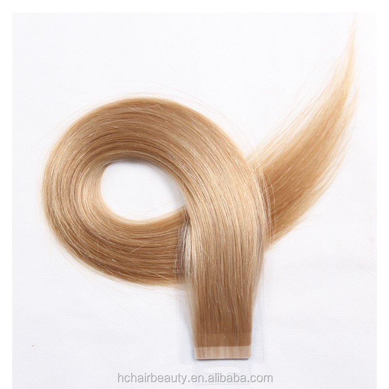 Wholesale 100 Remy Human Hair Tape Hair Extension Invisible Tape In