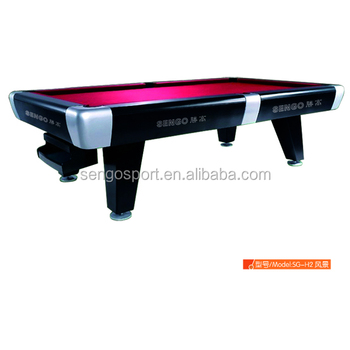 Standard Bumper Pool Poker Table Russian Pyramid Billiard Table