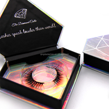 bulk 3d mink lashes cruelty free mink diamond eyelashes package box