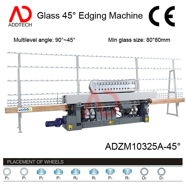 used glass edge polishing machines ADZM10325A-45