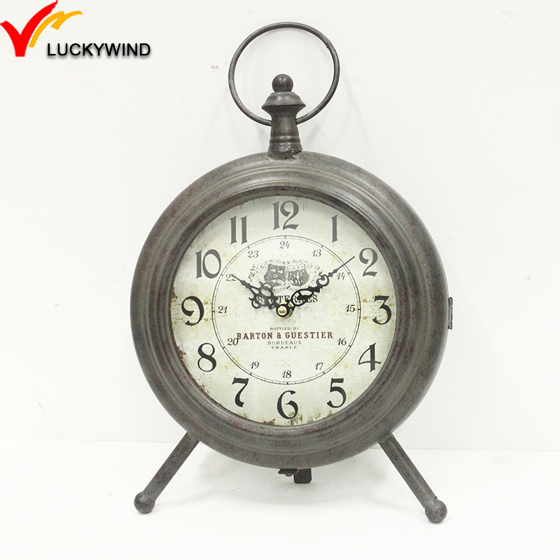 Metal Tabletop Clock, Metal Tabletop Clock Suppliers And Manufacturers At  Alibaba.com