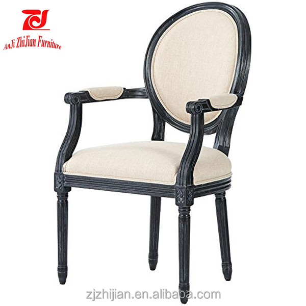 European Style Wedding American French Side Chair Carved ZJA3b