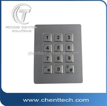 Push Button Metal Membrane Switch Fingerprint Password Keypad Door Lock -  Buy Keypad Door Locks,Outdoor Keypad Locks,Outdoor Keypad Door Lock Product