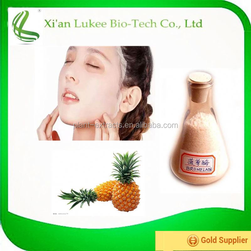 High quality pineapple powder extract Bromelain Enzyme powder for sale