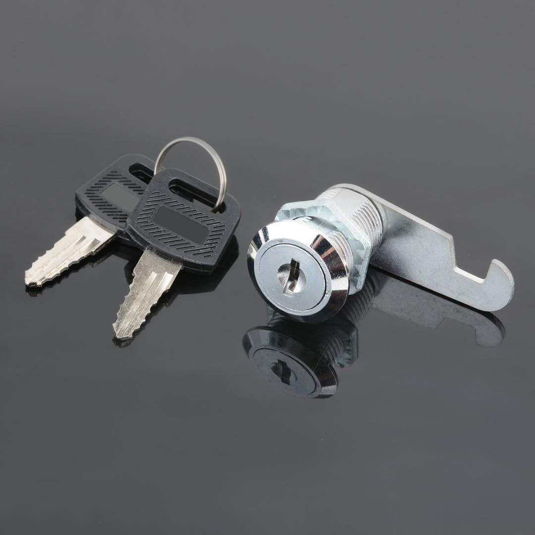 WillBest 16mm Security Drawer Cam Lock Round Door Mailbox Cabinet Tool Box Lock 2 Keys Hardware Locks Set MAYITR
