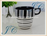 new products cartoon designed ceramic mug with different colors