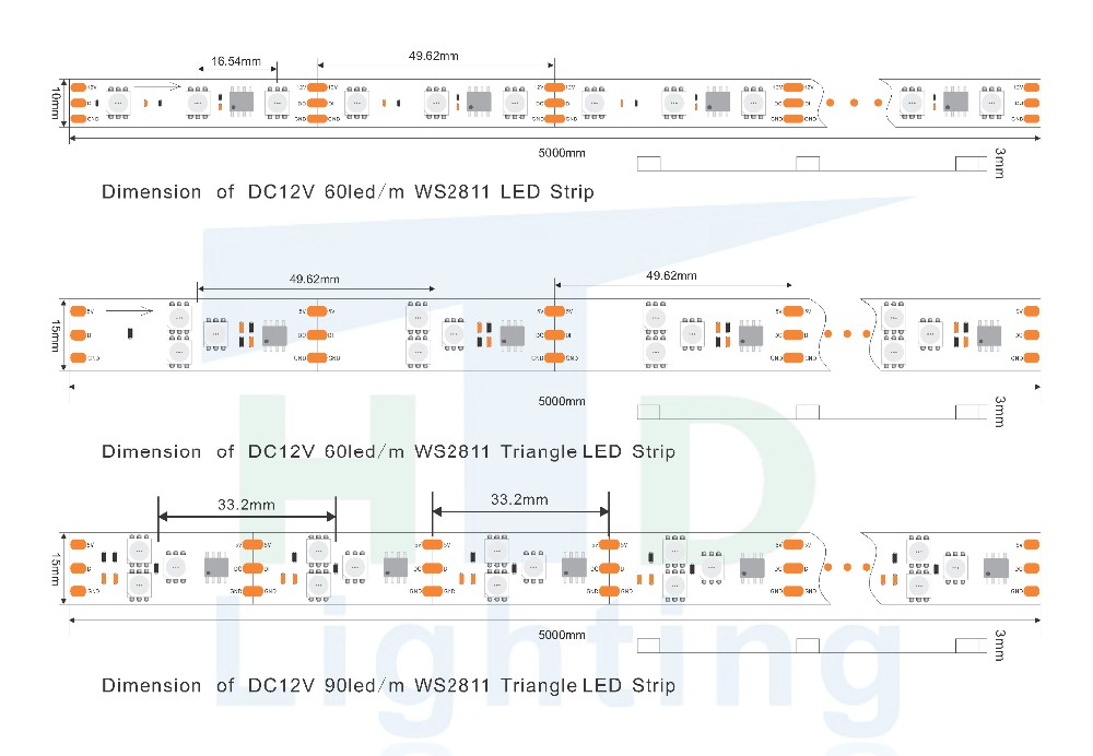 dream color 5v full color ic ws2811 for decoration led fluorescent light wiring diagram 2 fluorescent light wiring diagram