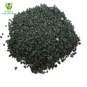 Low price 1-3mm/ 2-4mm granulated rubber granules recycled SBR