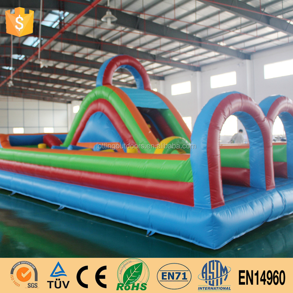 Vibrant Inflatable Obstacle Bouncy For Sale Interactive Inflatables