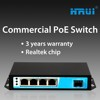 switch poe 5 port 15.4w 4 poe port