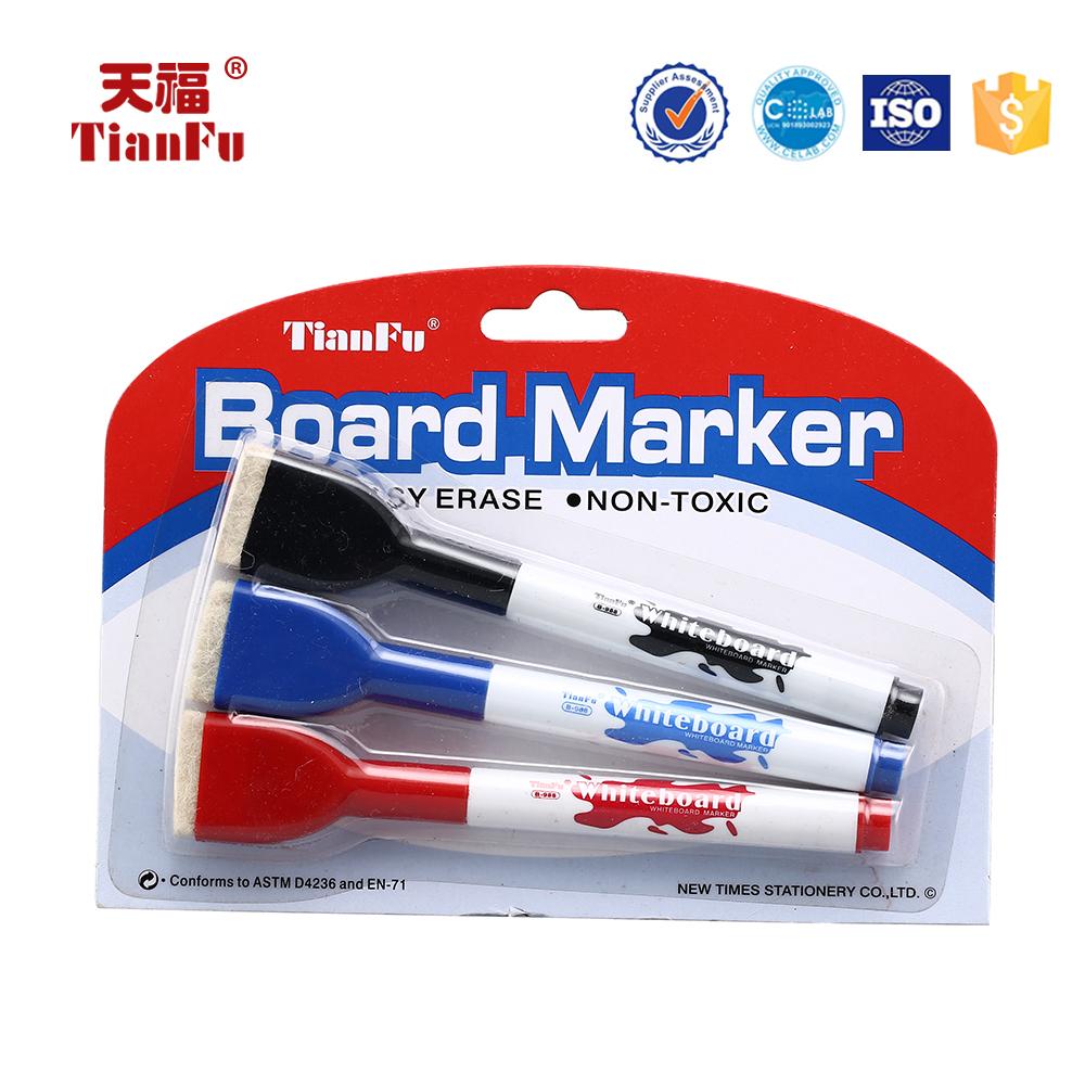Dry Erase two side TF-B-988 whiteboard marker pen for office
