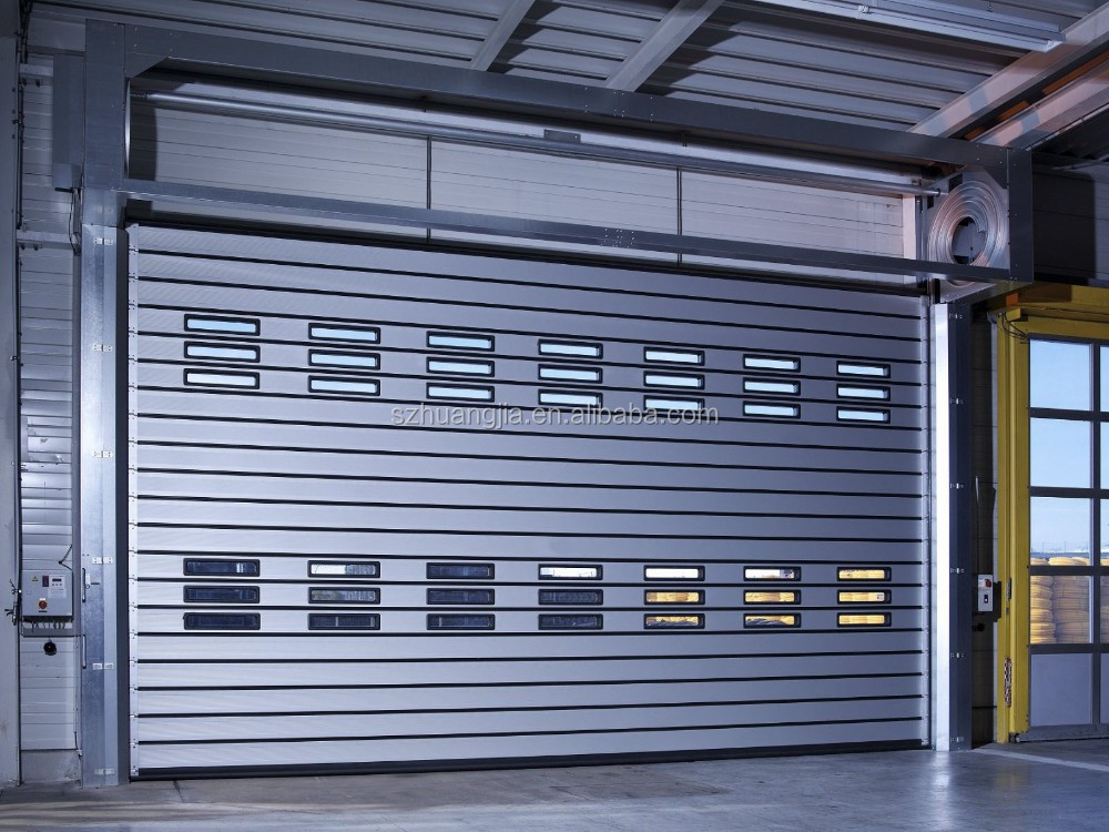 1 Second Roll Up Open Automatic Security Shutter Barrier