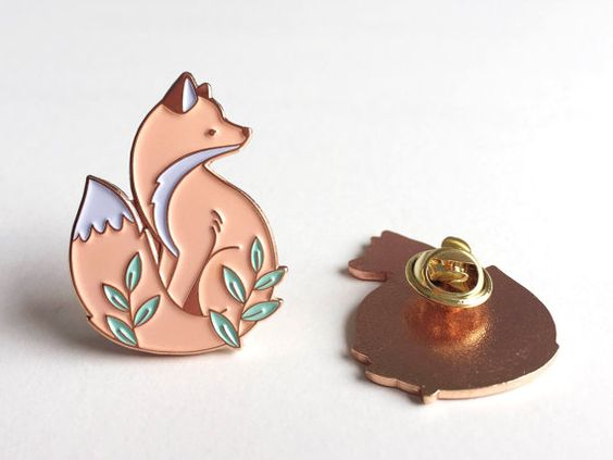 make your own design custom cool cartoon animal enamel pin badges