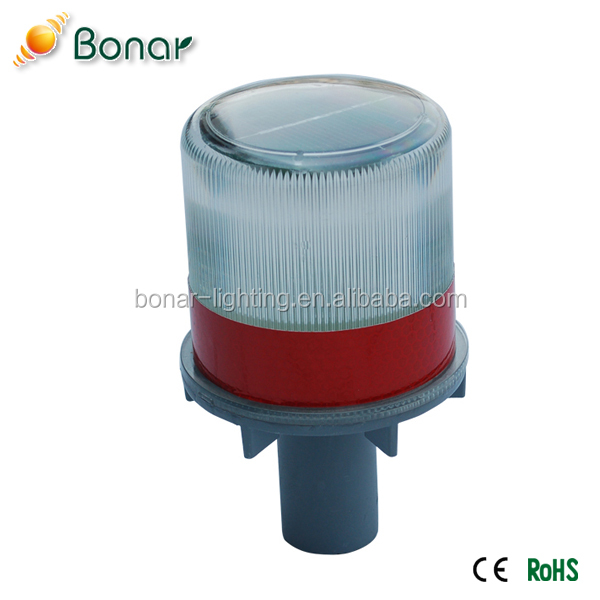 Good price with high quality best seller solar beacon warning lamp light for the traffic cone,roadblock and other road safety