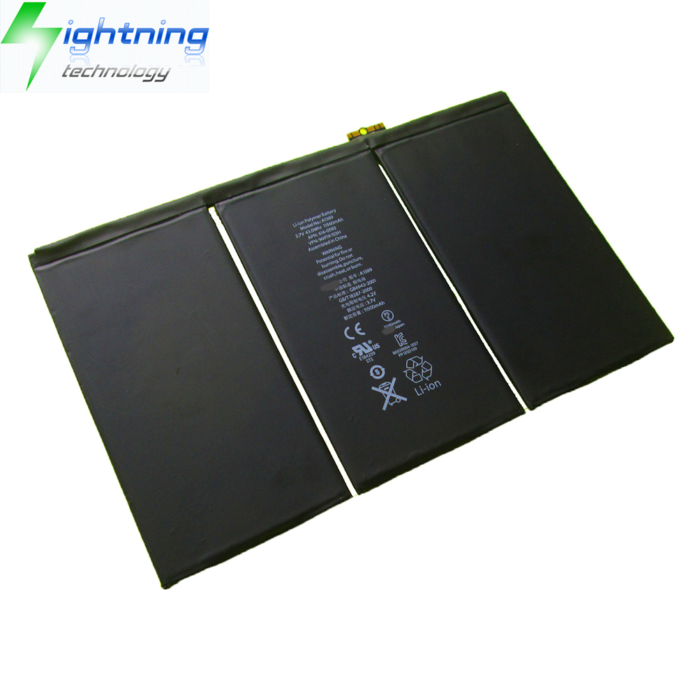 New Replacement Battery for iPad 3 4 A1389 616-0591 616-0592 A1460 A1459 A1458