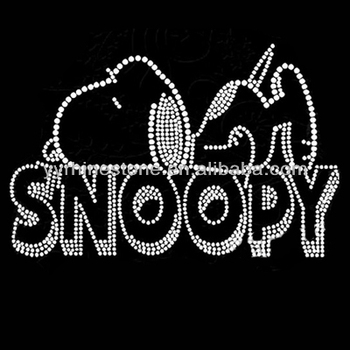 6fd6619c6 Snoopy Wholesale Rhinestone Heat Transfers - Buy Snoopy Wholesale ...
