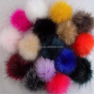 4d26bd280cf Wholesale Fur Pom Poms
