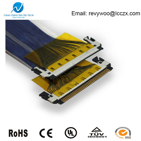 40 Pin Lcd Led Lvds Cable Connector Buy Lcd Led Lvds
