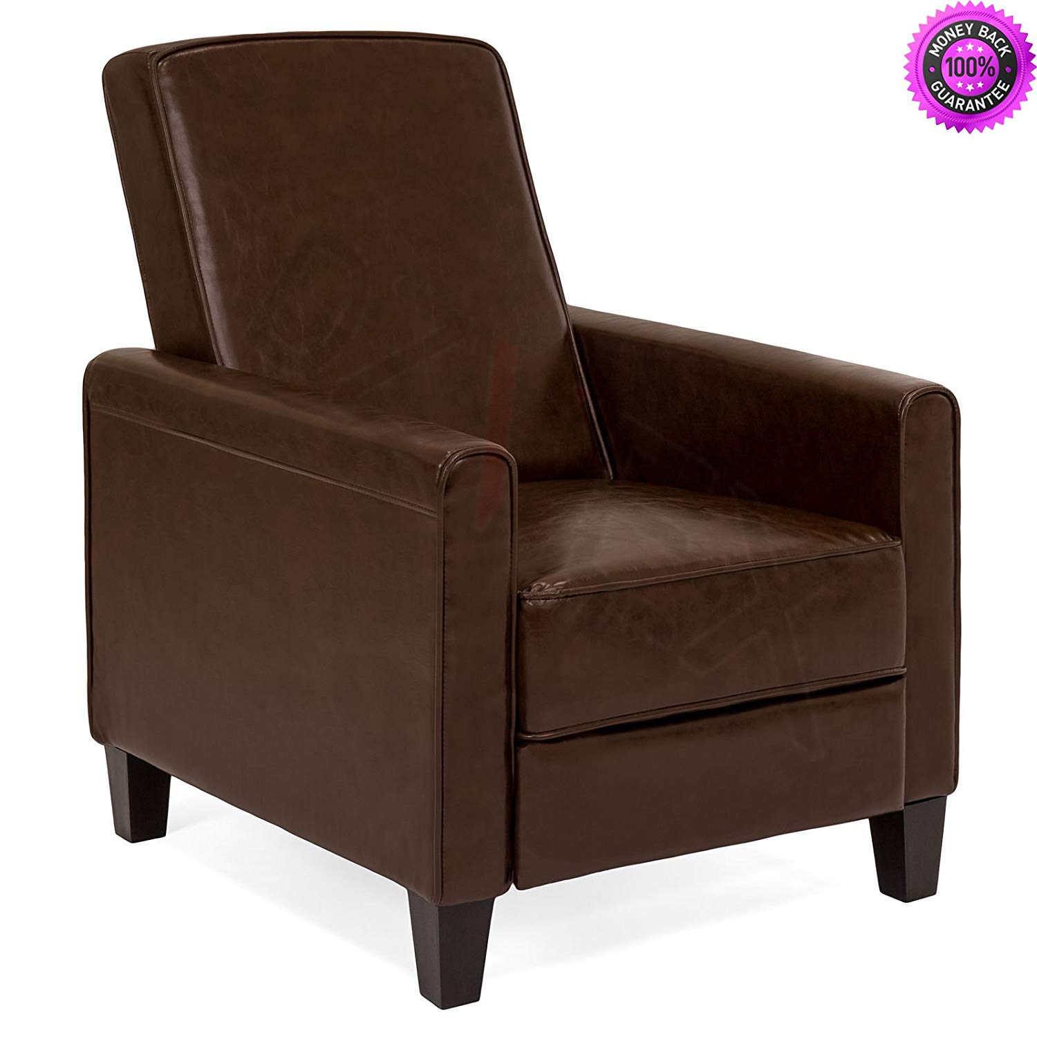 DzVeX__Upholstered Leather Recliner Club Chair (Brown) And chair lifts restaurant chairs stacking chairs waiting room chairs office furniture chair mats for carpet chairs for sale cheap