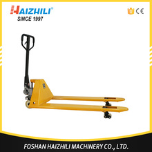3000kg loading capacity manual hand pallet truck for labor-saving