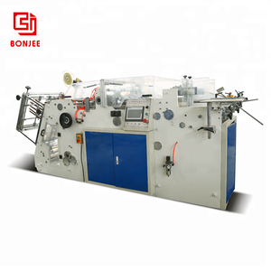 Bonjee Factory Supply Packaging Corrugated Paper Cake Box Making Machine