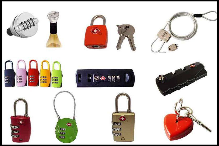 Zhujiang sales 2 digital combination code lock,password luggage lock