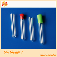 Disposable medical/laboratory use test tube 16*100mm