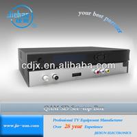 Manufacture Price SD MPEG-2 DVB-C QAM PVR Set Top Box(STB)
