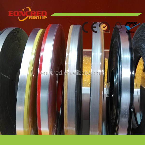 Professional Solid And Wood Grain Pvc Edge Banding In China