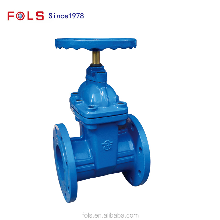 easy open and close manual elastic seat seal gate valve DN50