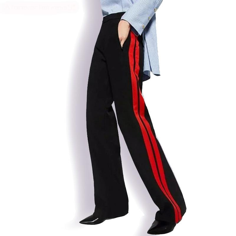 Durante Mucho Tiempo,Las Mujeres Pantalón Estilo Casual Lado ...