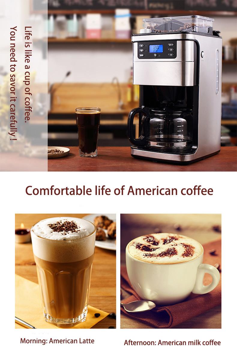 fully automatic 2L espresso coffee maker machine