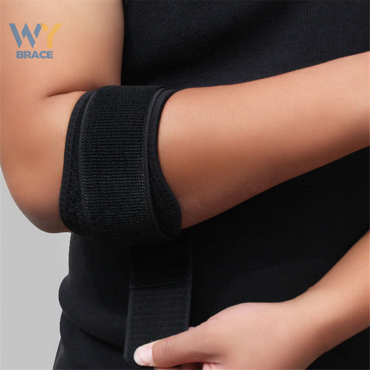 2017 New Product Tendonitis Tennis Elbow Brace Support With Compression Pad