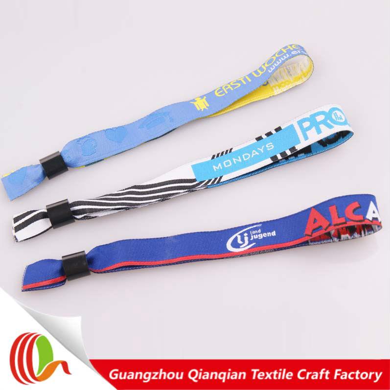 Factory Direct Custom Embroidered Bracelets For Music Festival Bracelet