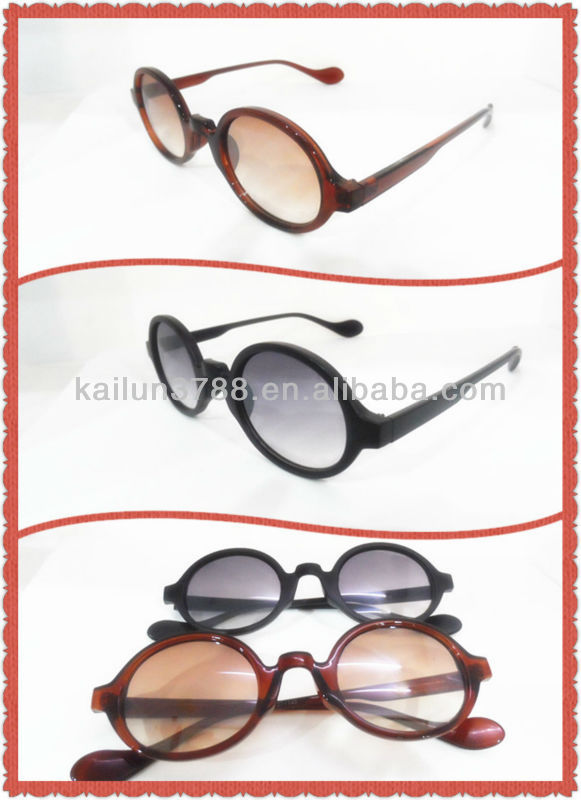 2014 cheapest simple round-framed sunglasses