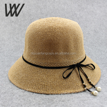 57c298772c9 Wholesale Straw Hats For Women Dome Summer Sun Hat With Bow - Buy ...